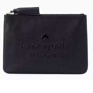 Kate Spade ♠️ Clutch Pouch Sienne with Tassle
